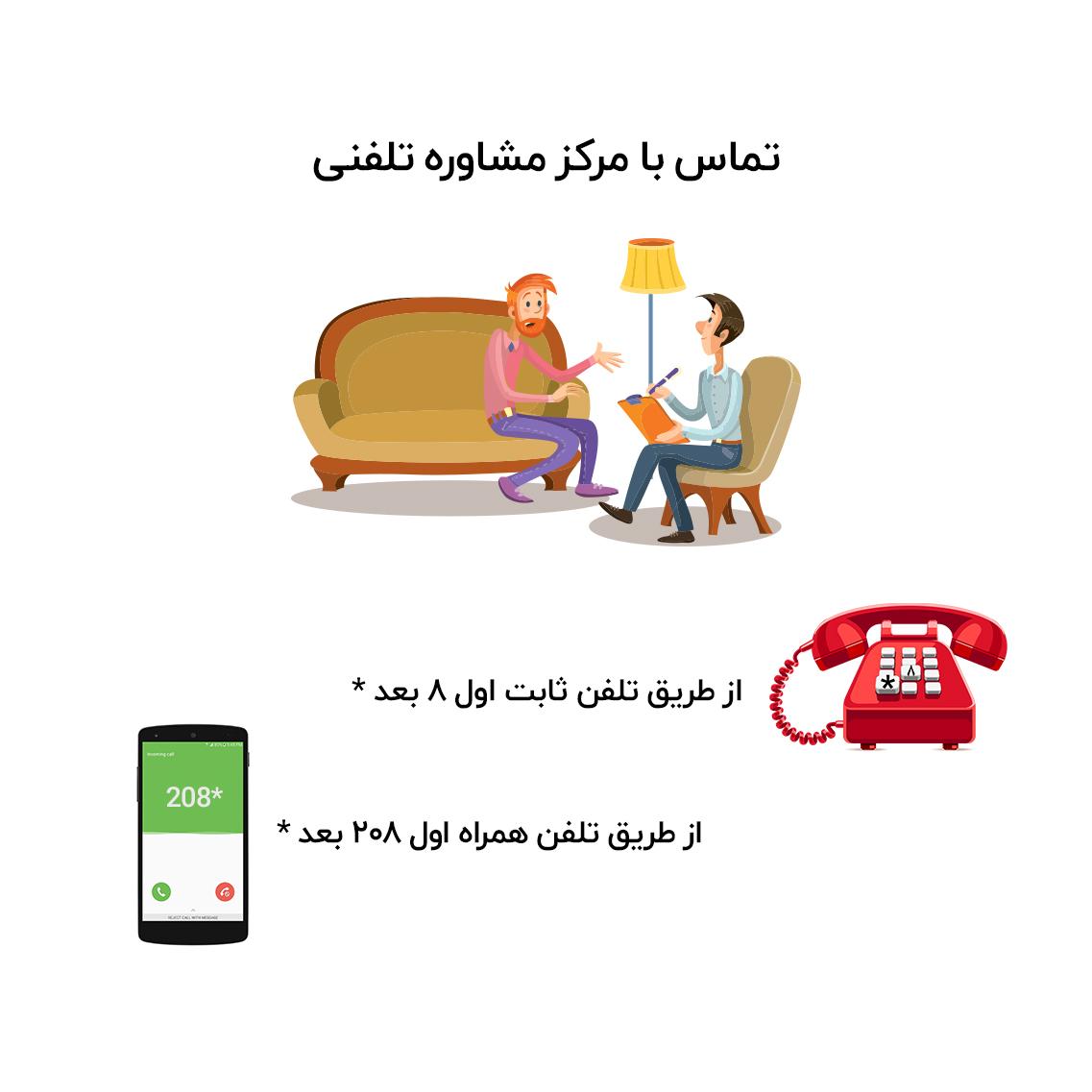 مشاوره تلفنی با موبایل